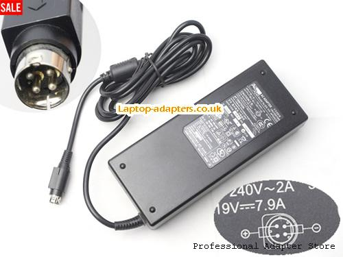 APL3AD25 Laptop AC Adapter, APL3AD25 Power Adapter, APL3AD25 Laptop Battery Charger ACBEL19V7.9A150W-4PIN
