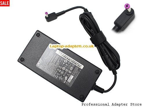 NITRO 7 AN715-51-786X Laptop AC Adapter, NITRO 7 AN715-51-786X Power Adapter, NITRO 7 AN715-51-786X Laptop Battery Charger ACER19.5V9.23A180W-5.5x1.7mm