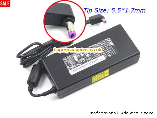 V5-591G-70QN Laptop AC Adapter, V5-591G-70QN Power Adapter, V5-591G-70QN Laptop Battery Charger ACER19V7.1A135W-NEW-5.5x1.7mm