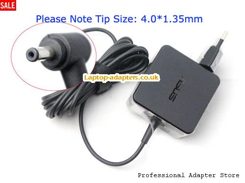 0A001-00330100 Laptop AC Adapter, 0A001-00330100 Power Adapter, 0A001-00330100 Laptop Battery Charger ASUS19V1.75A33W-4.0X1.35mm-EU