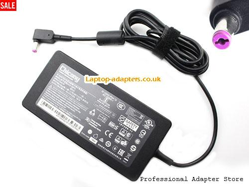 ASPIRE 7 SERIES Laptop AC Adapter, ASPIRE 7 SERIES Power Adapter, ASPIRE 7 SERIES Laptop Battery Charger CHICONY19.5V6.92A135W-5.5x1.7mm-thin