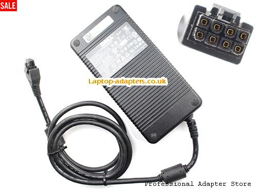 UK Genuine Dell RXVT7 Ac Adapter F180PU-00 12V 15A 180W Power Supply Molex 8 holes -- DELL12V15A180W-8Holes
