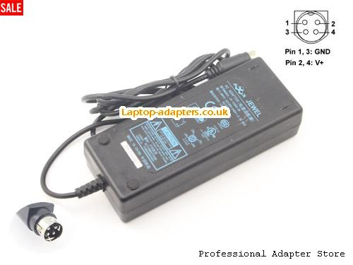 JEWEL 12V 6A Laptop AC Adapter, 12V 6A Power Adapter, 12V 6A Laptop Battery Charger