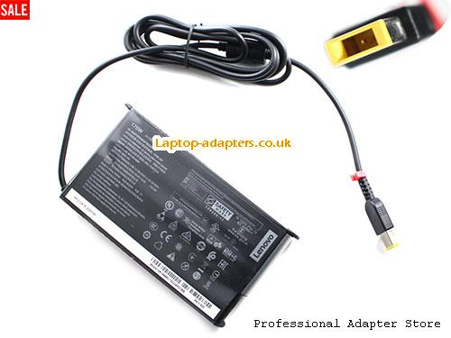 02DL140 Laptop AC Adapter, 02DL140 Power Adapter, 02DL140 Laptop Battery Charger LENOVO20V8.5A170W-rectangle-pin-Thin