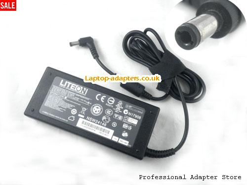 UK 19V 4.74A Adapter Charger for TOSHIBA Satellite A100 1130 A100-169 A115 M70 M60-139 M40X-184 L30 L100 1115-S123 2435 -- LITEON19V4.74A90W-5.5x2.5mm