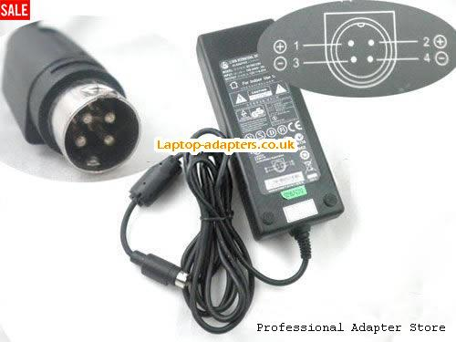 0452B1280 Laptop AC Adapter, 0452B1280 Power Adapter, 0452B1280 Laptop Battery Charger LS12V6.67A80W-4PIN