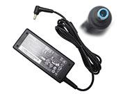 Genuine CHICONY A12-065N2A Ac Adapter with round blue tip 19v 3.42A 65W CHICONY 19V 3.42A Adapter