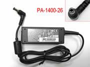 Genuine Liteon PA-1400-26 ac adapter 19v 2.1A For acer S220HQL S190WL G246HL Monitor LITEON 19V 2.1A Adapter