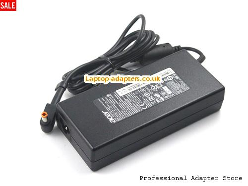 Image 2 for UK New style Acer ADP-135KB T Ac Adapter Orange Tip 19v 7.1A Power Supply -- ACER19V7.1A135W-NEW-5.5x2.5mm