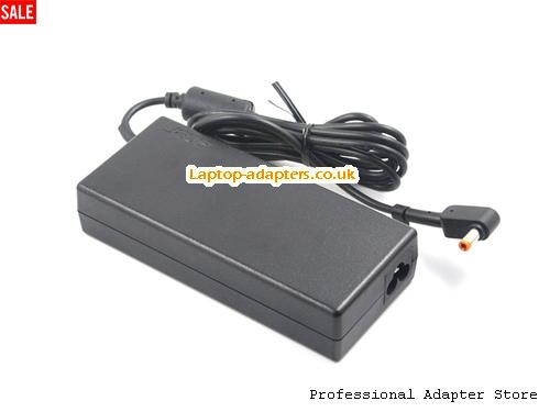 Image 4 for UK New style Acer ADP-135KB T Ac Adapter Orange Tip 19v 7.1A Power Supply -- ACER19V7.1A135W-NEW-5.5x2.5mm