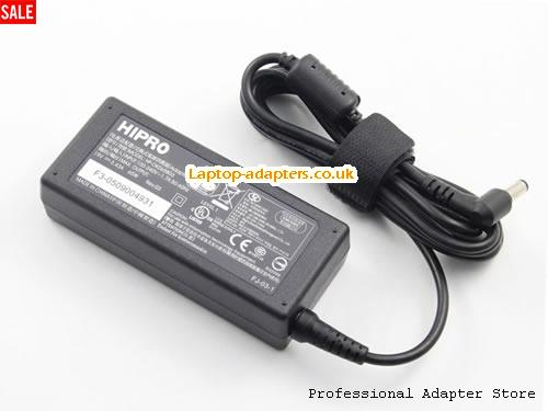 Image 1 for UK MAKE THE Switch to HIPRO AC Adapter HP-OK065B03 19V 3.43A 65W -- HIPRO19V3.43A65W-5.5x2.5mm