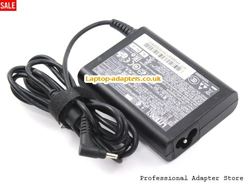 Image 2 for UK Genuine ACER ASPIRE P3 S5 S7 Aspire S7-191 S7-391 ULTRABOOK ICONIA W700 C720 Adapter charger -- LITEON19V3.42A-3.0x1.0mm-SL