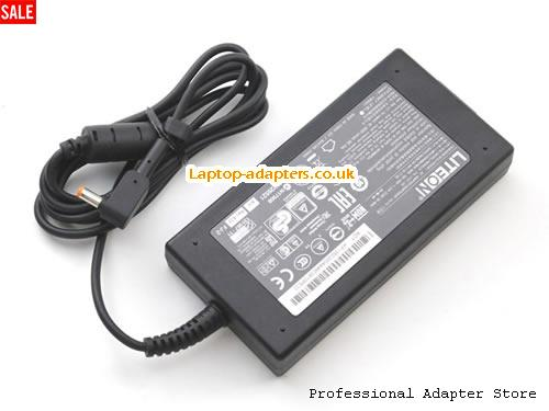 Image 1 for UK PA-1131-08 SADP-135EB ADP-135DB 135W Power Supply for ACER ASPIRE L100 L310 L320 L3600 -- LITEON19V7.1A135W-5.5x2.5mm